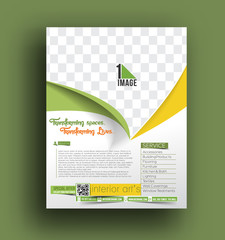 Interior Decorator Flyer Template