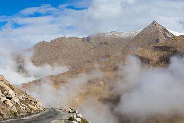 Himalayas along Manali-Leh highway. Himachal Pradesh, India