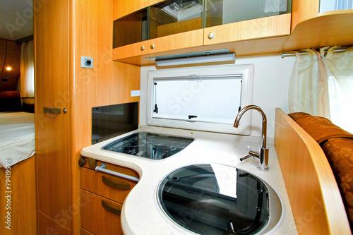 Camper kitchen - 79419598