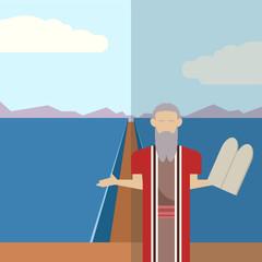 Moses and sea  icon 2