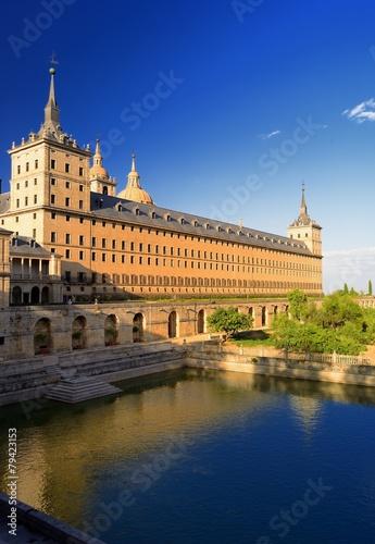Aluminium Madrid estanque del monasterio del escorial