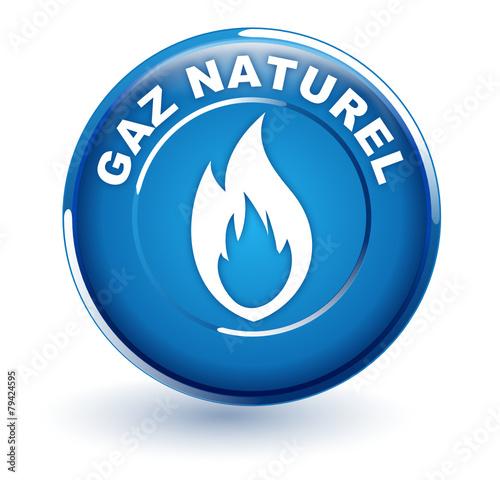 gaz naturel sur bouton bleu fichier vectoriel libre de droits sur la banque d 39 images fotolia. Black Bedroom Furniture Sets. Home Design Ideas
