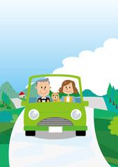 シニア 夫婦 ドライブ