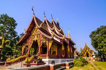 Thai art church building,Thailand