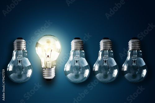 Leinwanddruck Bild Creativity and innovation