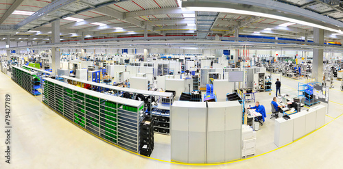 Fotobehang Industrial geb. moderne Industrieanlage // High Tech Industrie