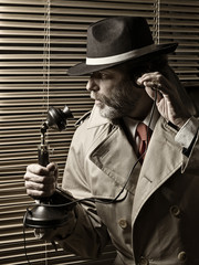 Mature Man, 20s, calling by phone