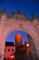 Burg castle Scharfenstein Drebach Chemnitz