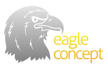 Proud eagles head