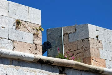 Battlements with canon, Gibraltar © Arena Photo UK
