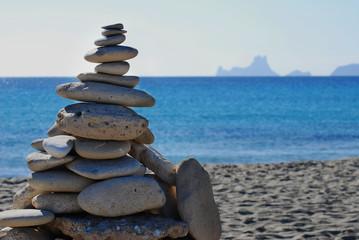 monton de piedras