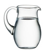 Water pitcher isolated on white. With clipping path - 79432903