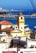 Almeria church and port © Arena Photo UK