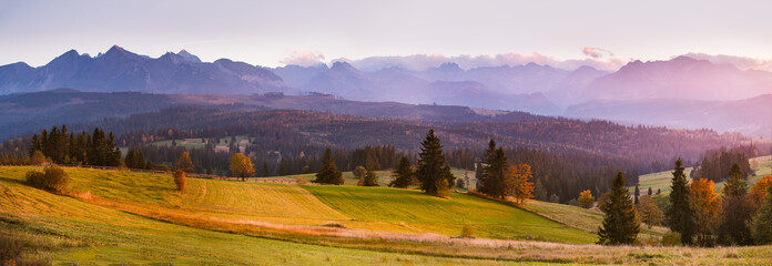 October in Tatras