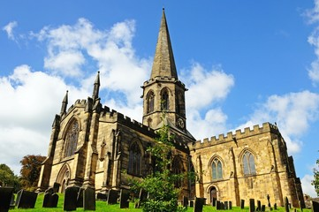All Saints Parish Church, Bakewell © Arena Photo UK