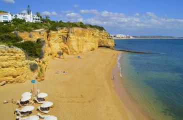 Cova Redonda Beach, Armacao De Pera, Algarve, Portugal