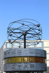 World Clock at Alexanderplatz in Berlin,Germany
