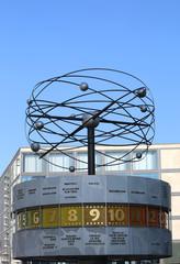 World Clock at Alexanderplatz in Berlin,Germany