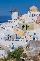 Oia village view, Santorini island, Greece