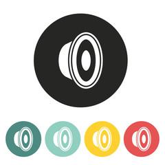 speaker icon.