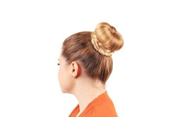 creative elegant hair bun