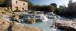 Leinwanddruck Bild - Saturnia Hot Spring, Tuscany
