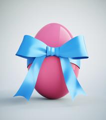 Geschenk-Ei pink