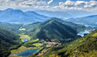 Views of the Alpine foothills of Varese