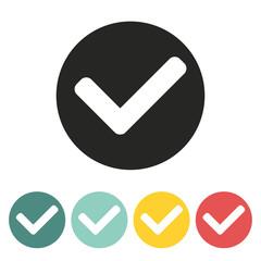 Tick mark icon.