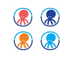 Octopus Logo Icon