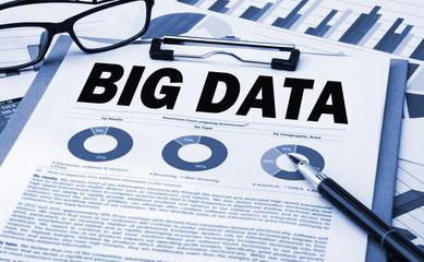 big data analysis concept