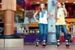 Beautiful girls on the rollerdrome - 79440501