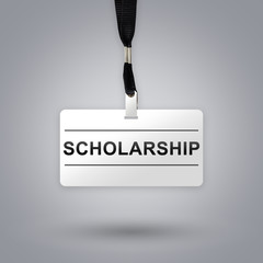 scholarship on badge
