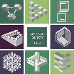 Impossible objects. Set 2.