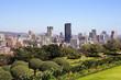 Leinwanddruck Bild - City of Pretoria Skyline, South Africa