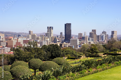 Tuinposter Zuid Afrika City of Pretoria Skyline, South Africa