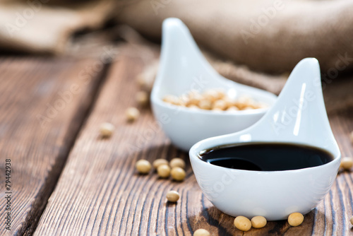 Portion of Soy Sauce - 79442938