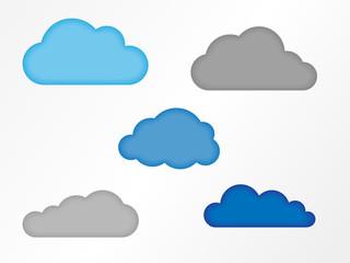 Wolkensymbole