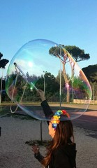 Creazione di bolle di sapone