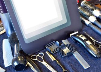 Outils pour salon de coiffure