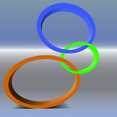 Blickpunkte oval