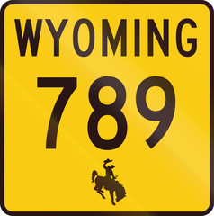 United States Wyoming State Highway