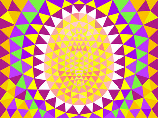 Abstract Easter pattern.