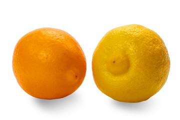 Yellow end Orange