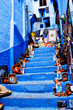 Street in Medina of Chefchaouen, Morocco - 79448709