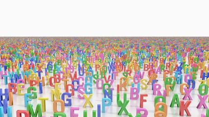 Endless alphabet letters