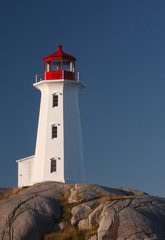 Lighthouse and clear blue sky