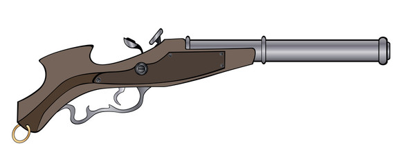 a historical pistol