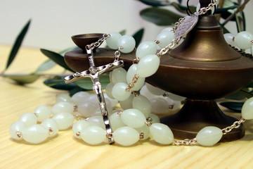 rosario con lampada