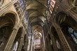 Постер, плакат: interiors and details of basilica of saint denis France